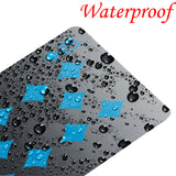 Waterproof Jet Black Playing Cards