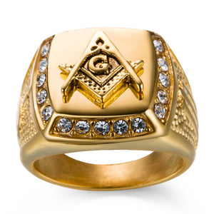 Ancient Egypt Paraoh Gold Rings