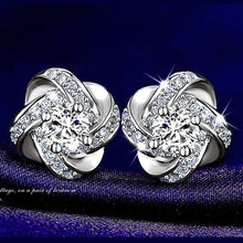 Simple Fashion Diamond Eternal Star Earrings Stud Earrings Women Jewelry