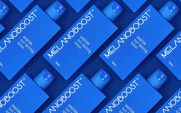 Melanoboost Peptide Sun Tanning Lotion - MAX BOOST your tan