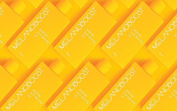 Melanoboost Peptide Sun Tanning Oil - Sun Tan Game Changer