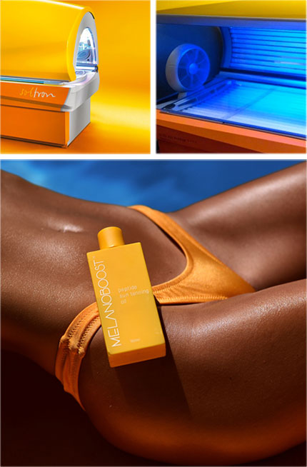 Melanoboost indoor tan accelerator lotion