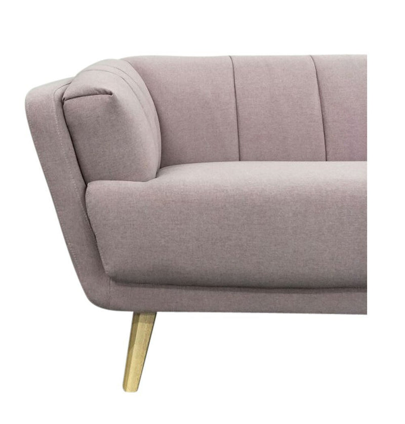 Alice 3-Seater Sofa - Pink