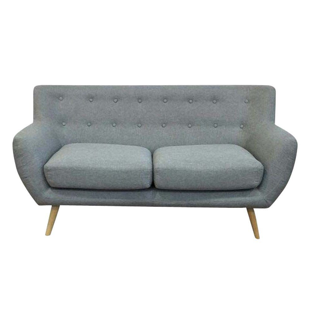 Ebba 2-Seater Sofa - Light Grey