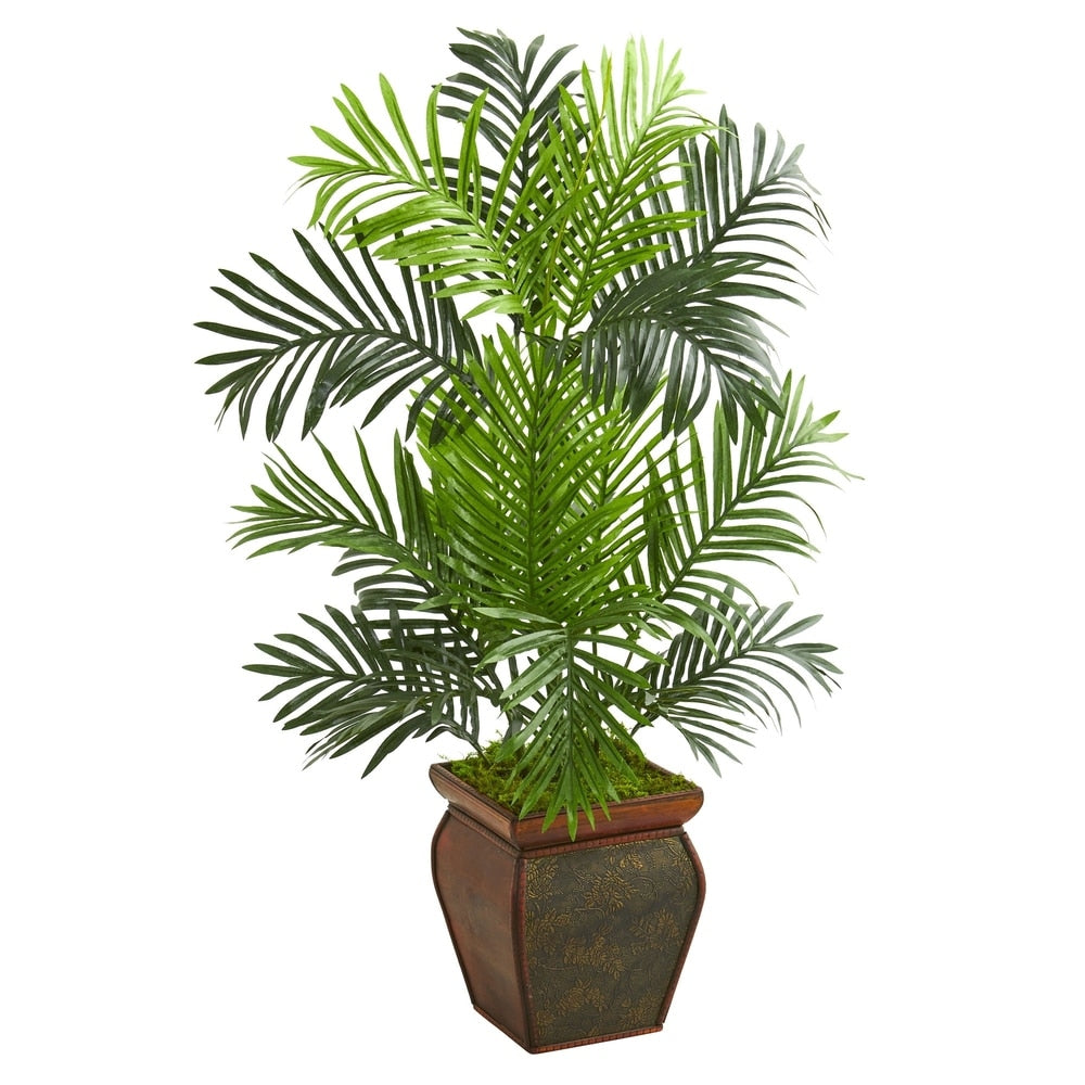 3' Paradise Palm Artificial Tree in Decorative Planter