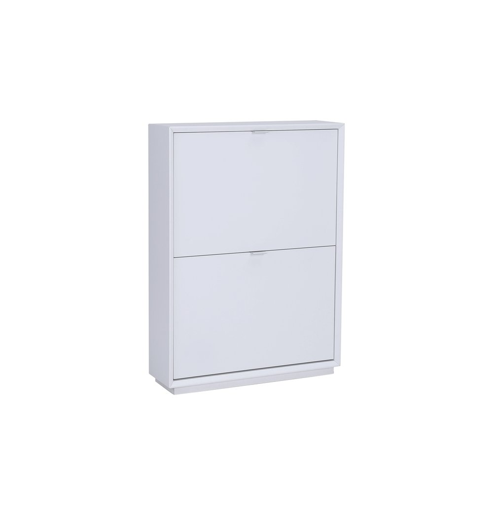 Liko 2-Door Shoe Cabinet - White