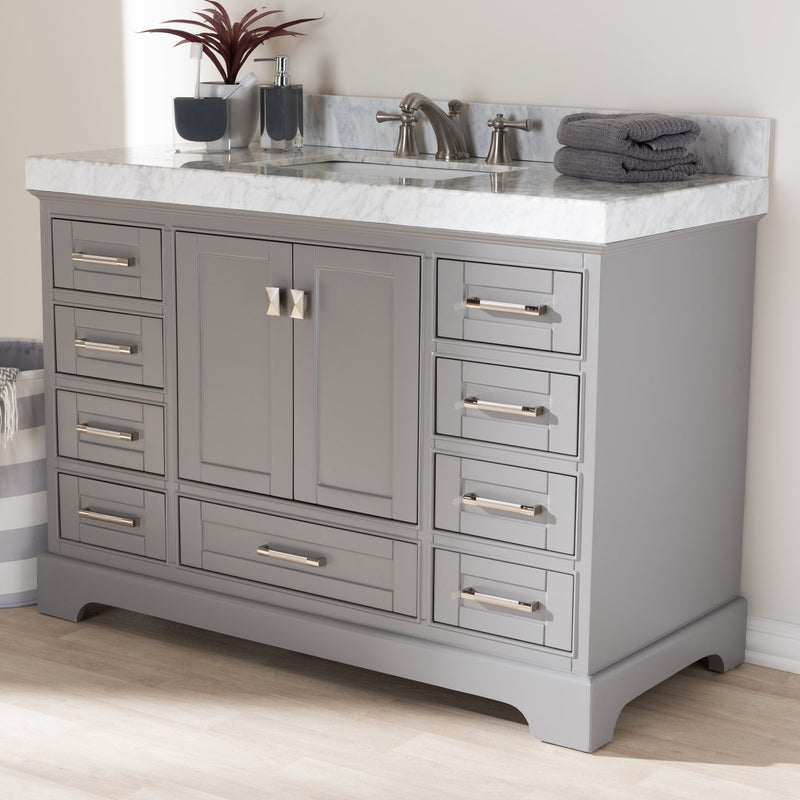 Venture 48-Inch Single Sink Bathroom Vanity - RoomsandDecor.com