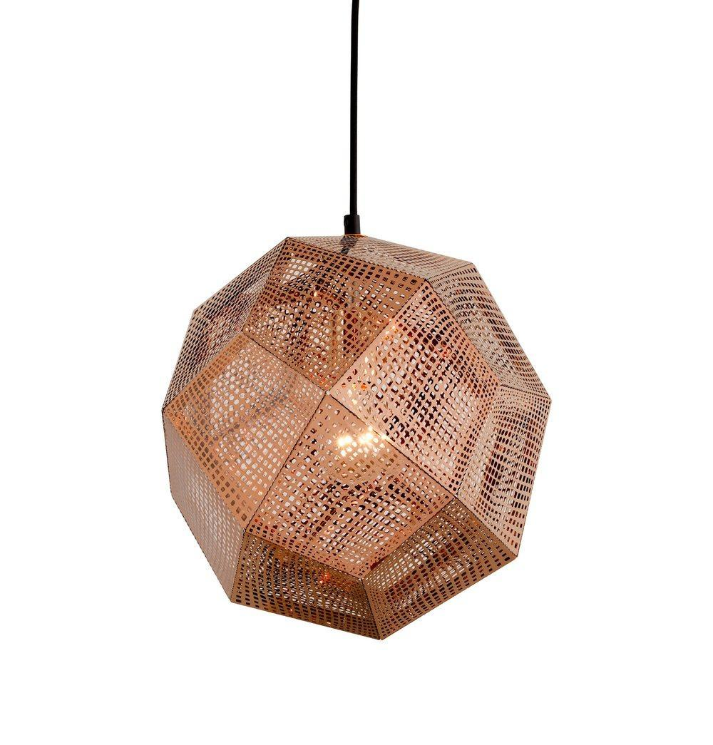 Etch Shade Pendant - Rose Gold - Reproduction