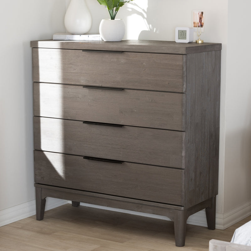 Adair Park Platinum Wood Chest - RoomsandDecor.com