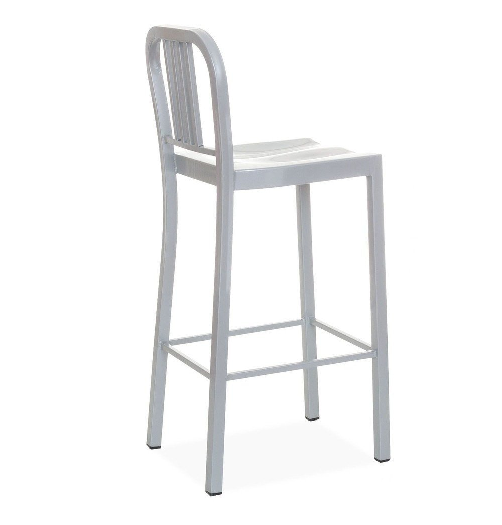 Oliver Bar Stool - Silver