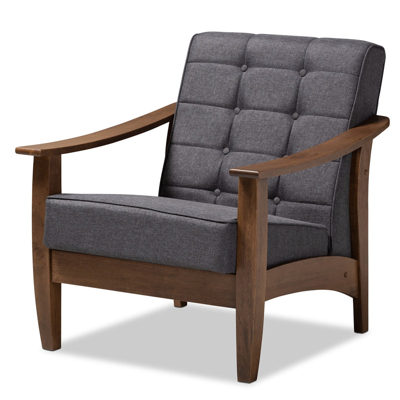Cedulie French Provincial Oak Lounge Chair
