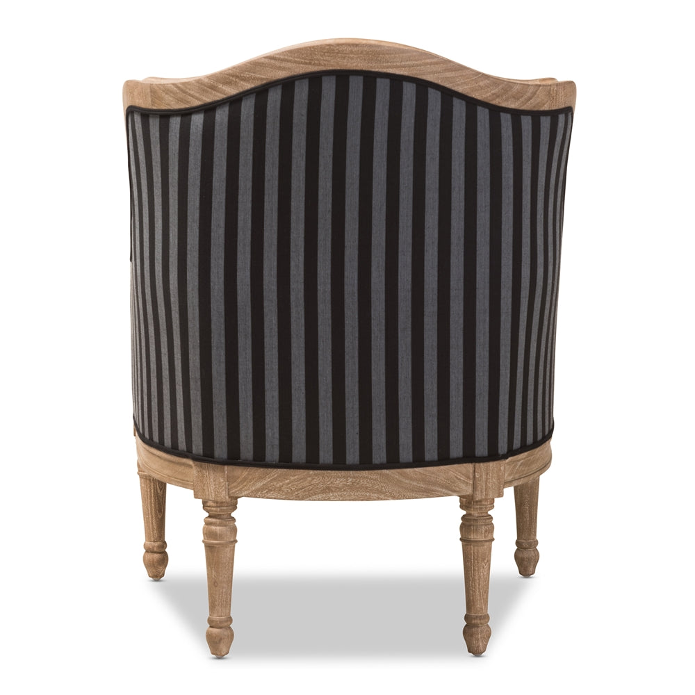 Brixon Striped Accent Chair - RoomsandDecor.com