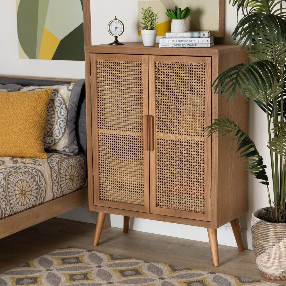 Mid-Century Modern Accent Storage Cabinet - RoomsandDecor.com