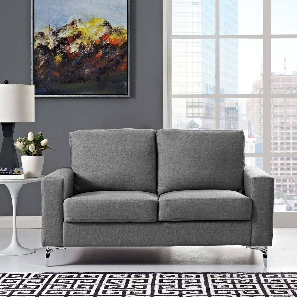 Allure Upholstered Sofa - Grey