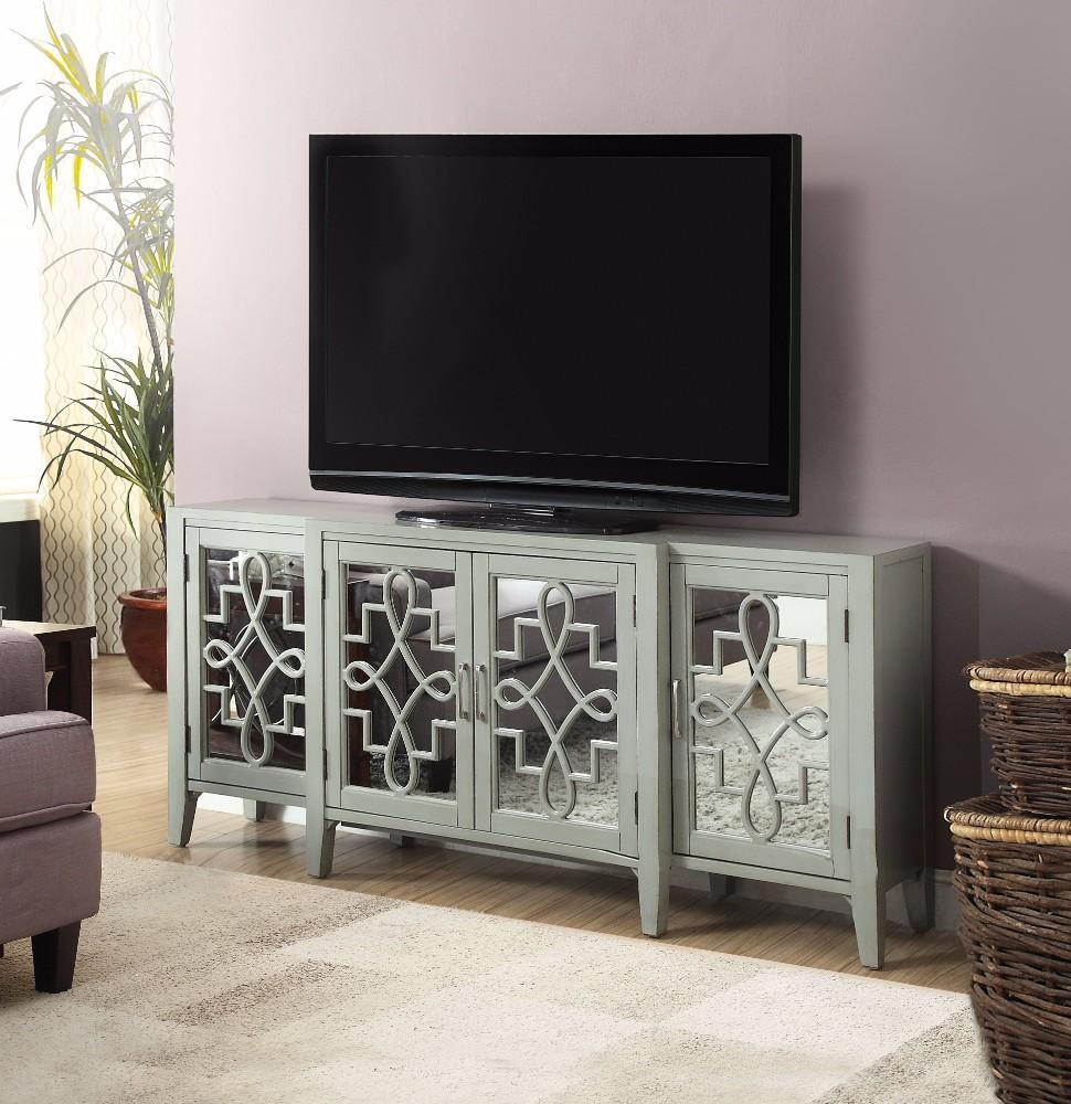 Weston Antique Gray Tv Stand - RoomsandDecor.com