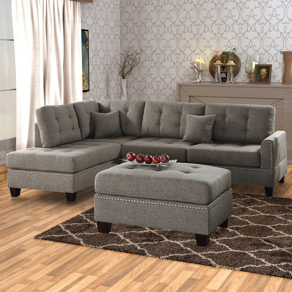 Waverly 3 Piece Sectional Set
