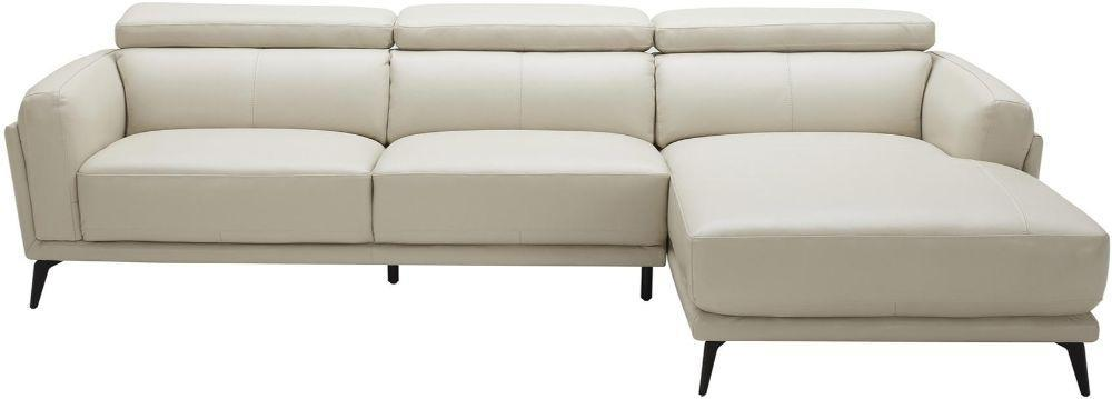 Tifton Leatherette Upholstered Wooden Sectional