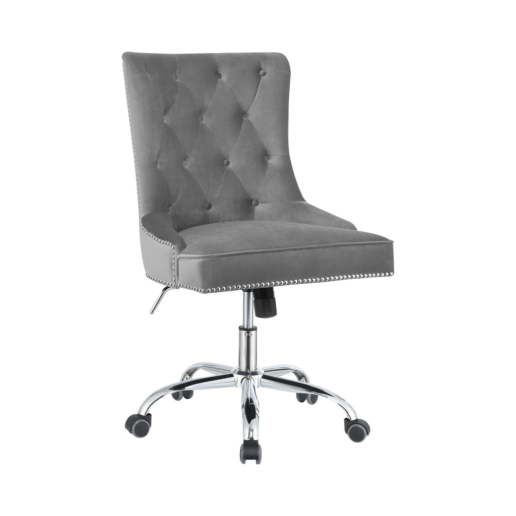 Halloway Nailhead Trimmed and Tufted Office Chair