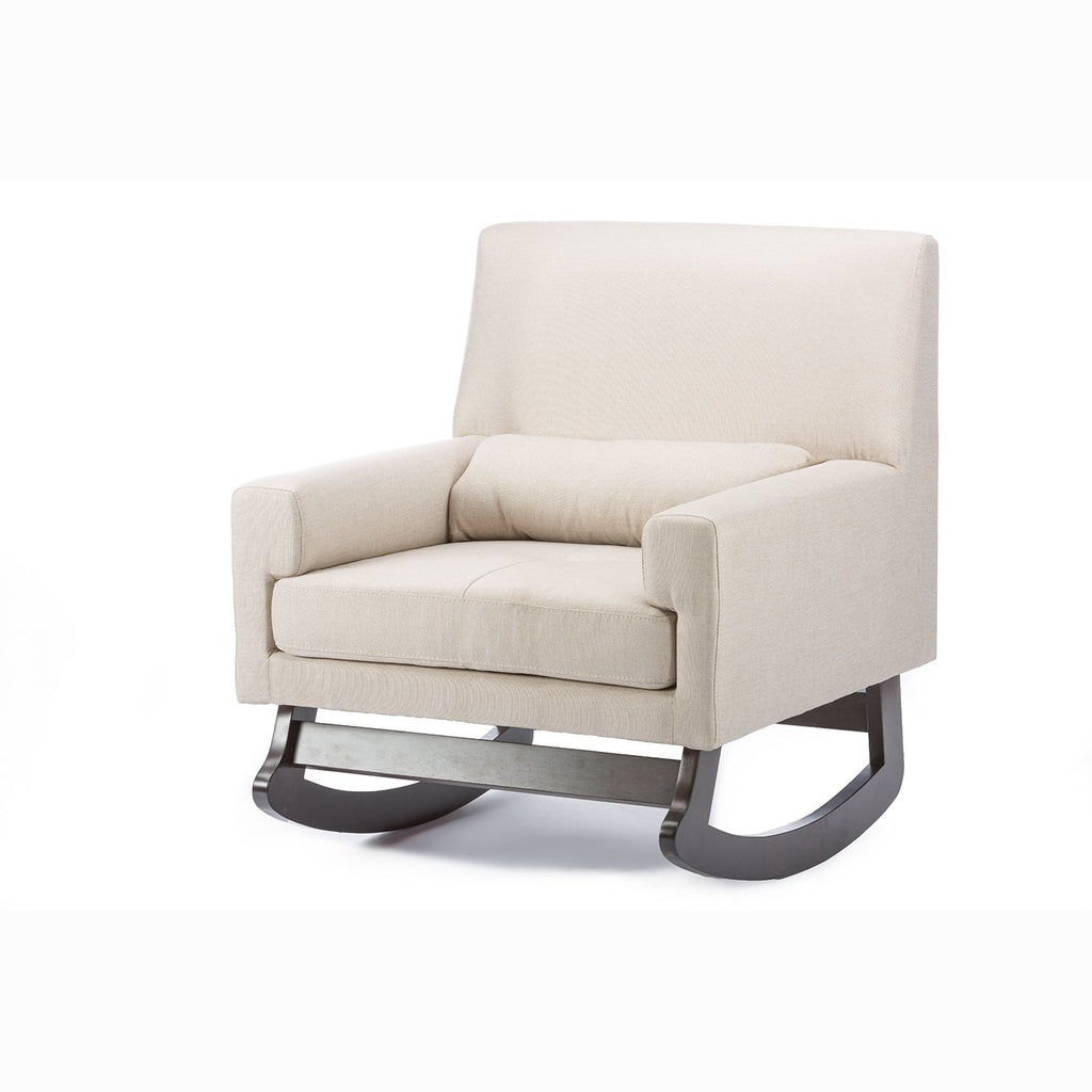 Contemporary Fabric Rocking Chair - RoomsandDecor.com