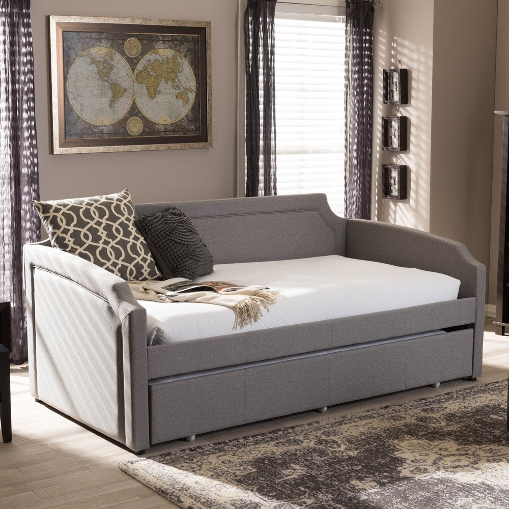 Paraskeve Modern Twin Daybed with roll-out Trundle - RoomsandDecor.com