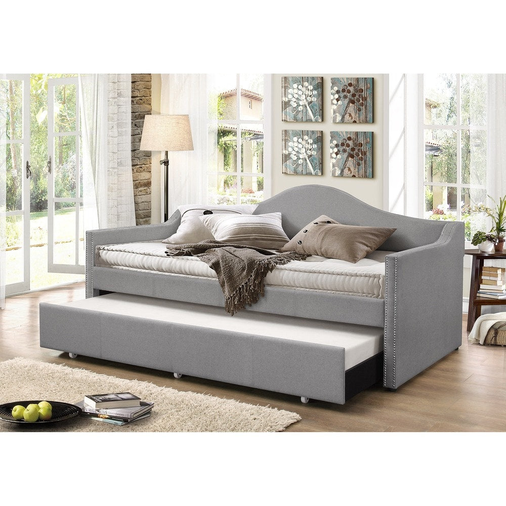 Psykhe Upholstered Arch Back Sofa Daybed - RoomsandDecor.com