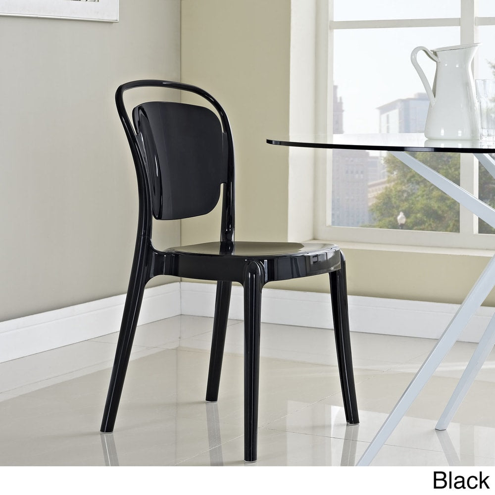 Entreat Dining Side Chair - Clear - N/A - Side Chairs