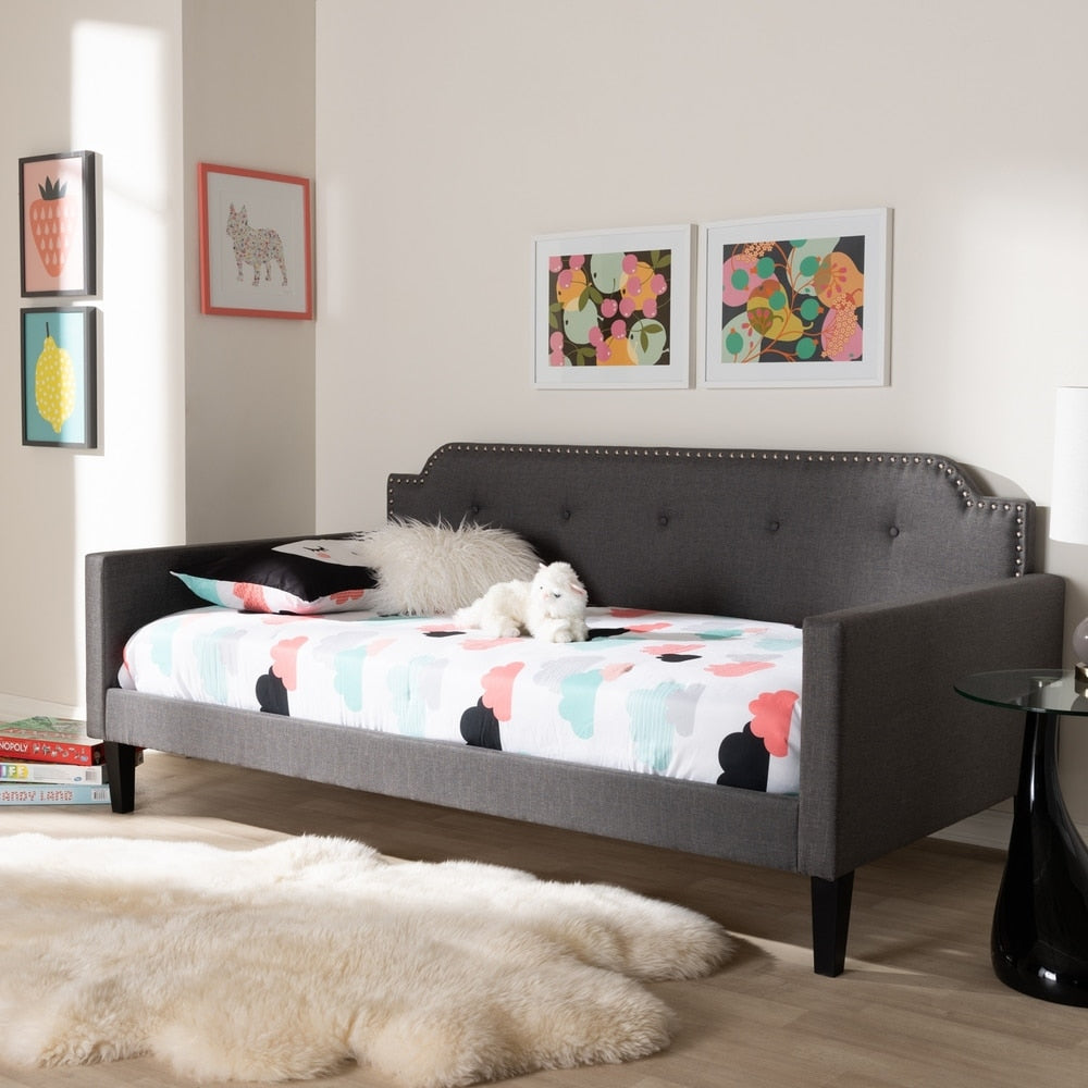 Contemporary Fabric Daybed by Baxton Studio - RoomsandDecor.com