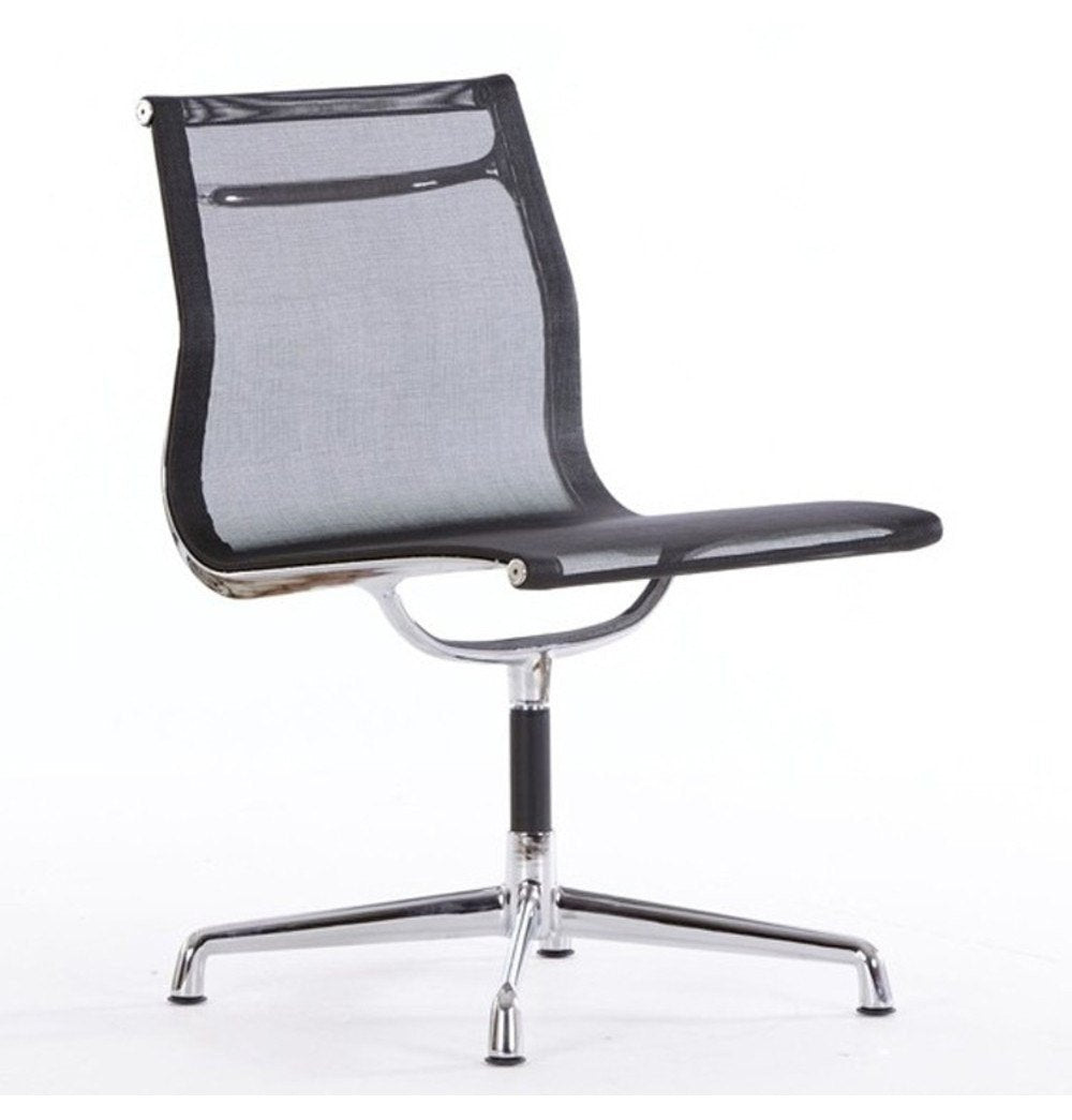 EA105 Aluminium Group Office Chair - Mesh - Reproduction