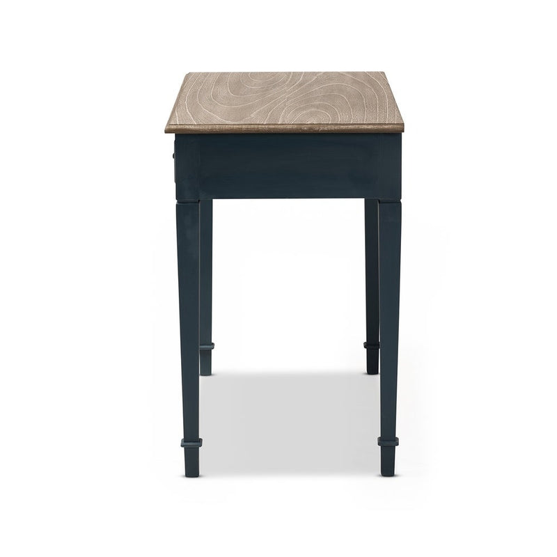 Blue Accent Writing Desk - RoomsandDecor.com