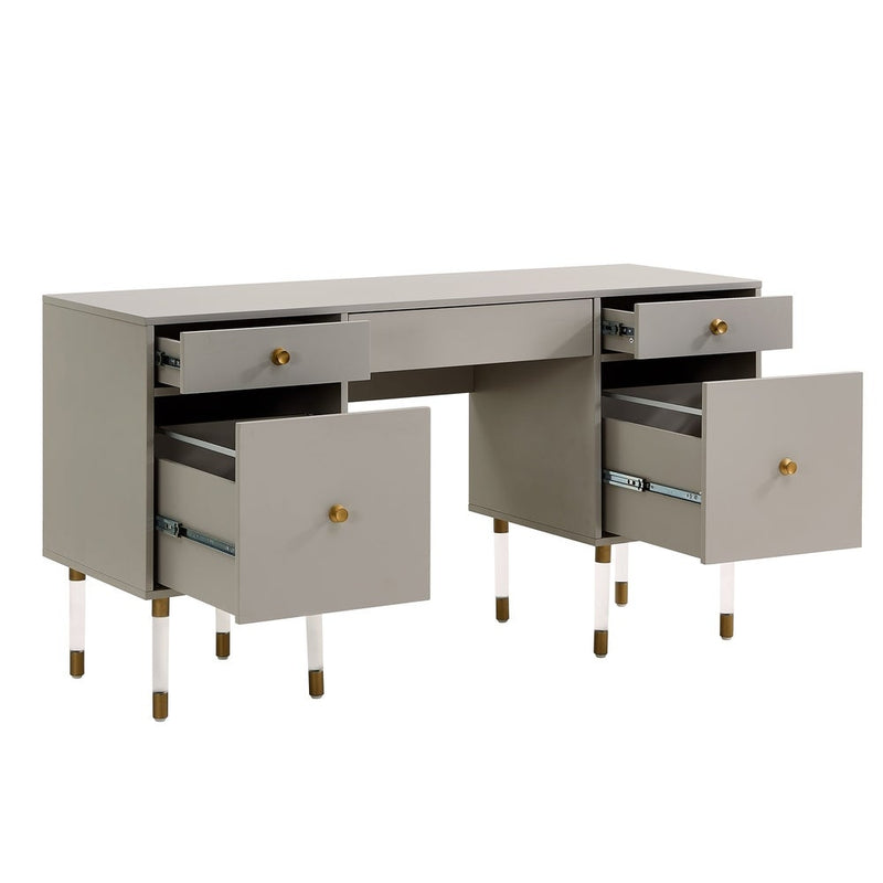 Helston Gray Writing Desk - RoomsandDecor.com