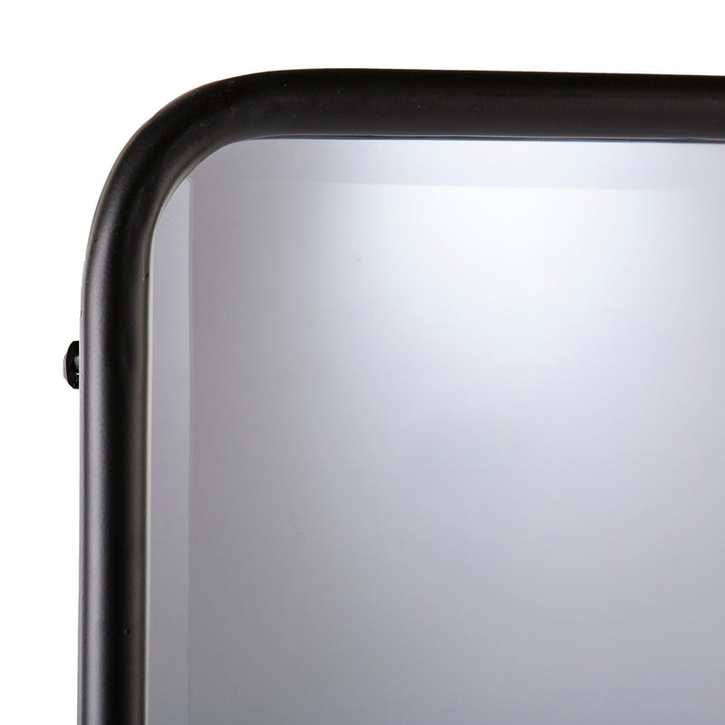 Sowell Black Full-Length Leaning Mirror - RoomsandDecor.com