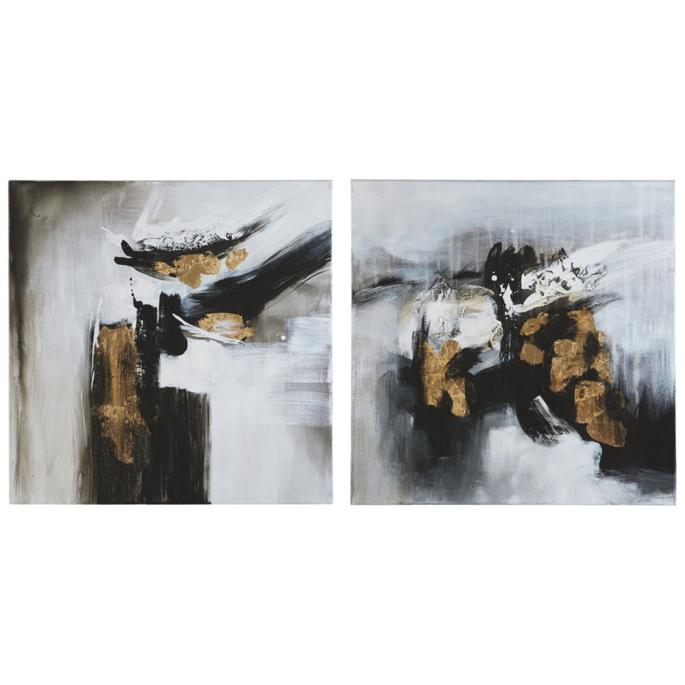 Contemporary Abstract Wall Art - Set of 2 - RoomsandDecor.com