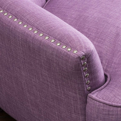 Cape Purple Club Armchair - RoomsandDecor.com