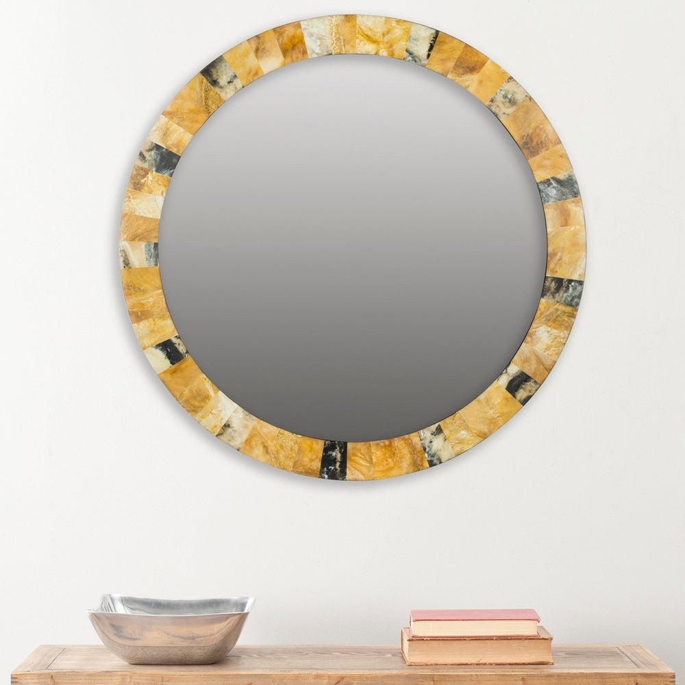 Safavieh Lydia Artisan Multi 29-inch Decorative Mirror - RoomsandDecor.com