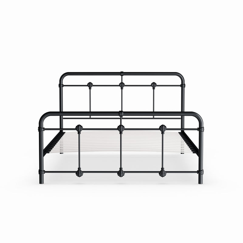 Vintage Industrial Metal Platform Bed Full - RoomsandDecor.com