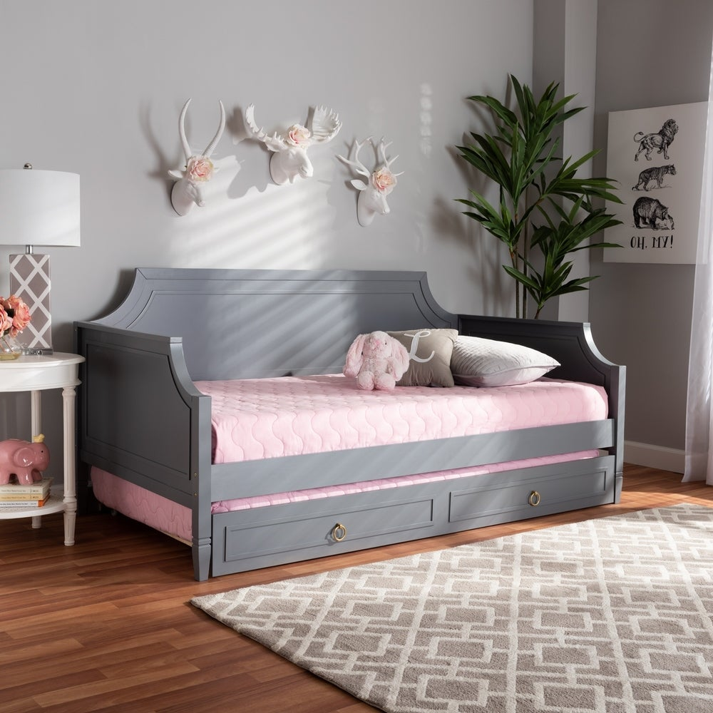 Mariana Classic and Traditional Wood Daybed - RoomsandDecor.com