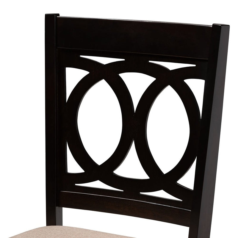 Modern and Contemporary Dining Chair 4-Piece Set - RoomsandDecor.com