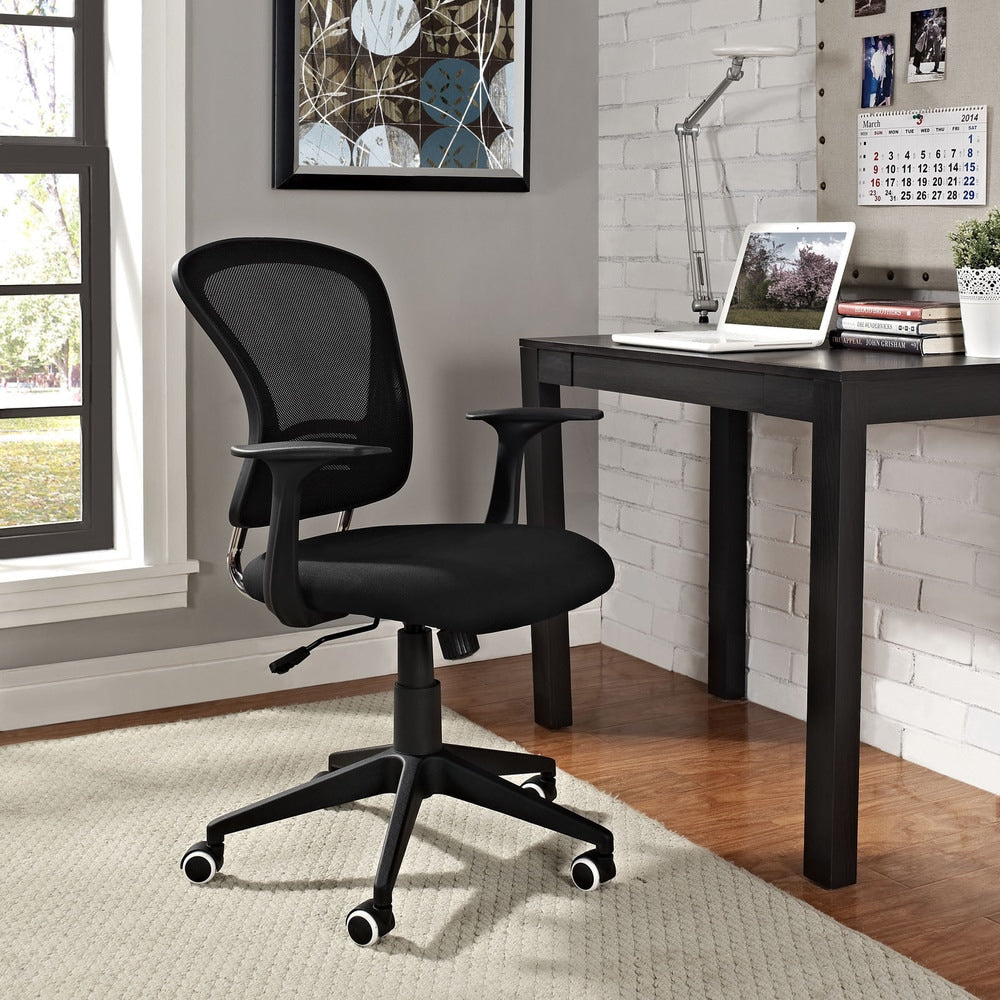 Poise Office Desk Chair - Black