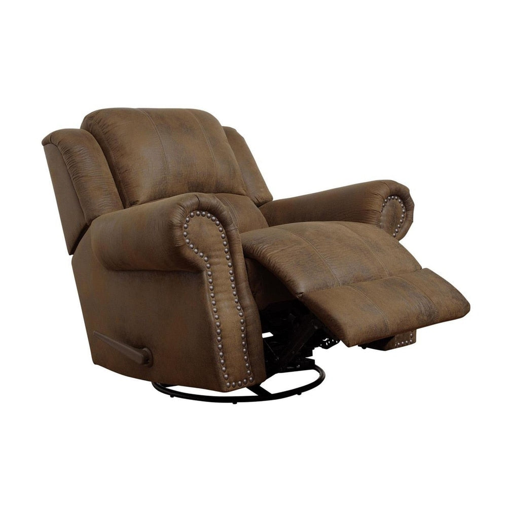 Pretty Brown Rocker Recliner Chair - RoomsandDecor.com
