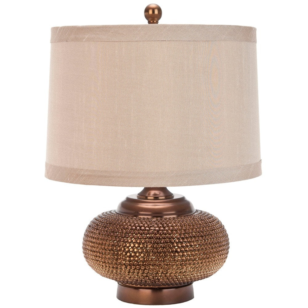 19-inch Alexis Taupe Gold Bead Table Lamp - RoomsandDecor.com