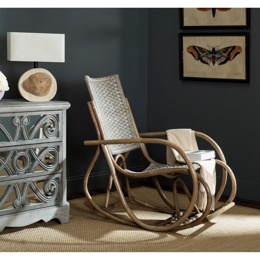 Antique Grey Rocking Chair - RoomsandDecor.com