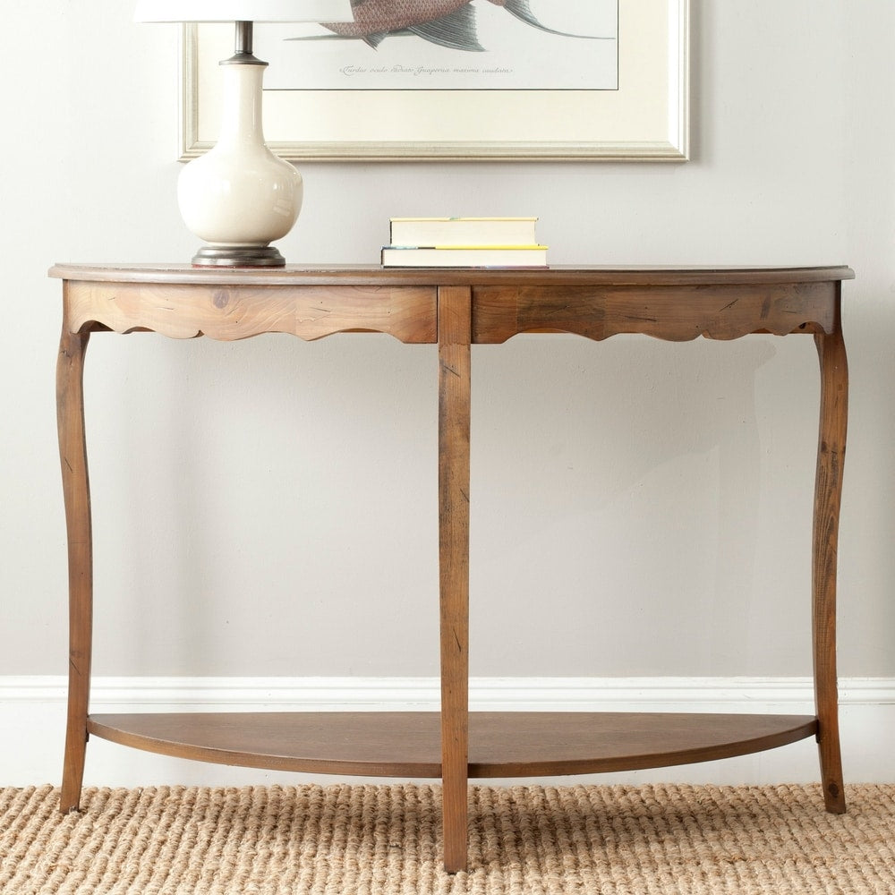 Safavieh Christina Firewood Console Table