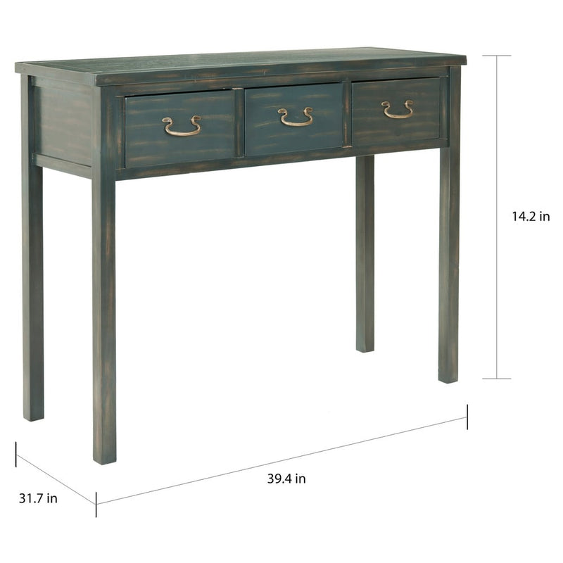 Safavieh Cindy Teal Console Table