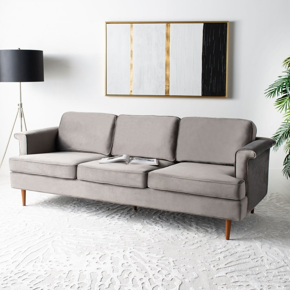 Benton Wooden Leg Sofa - RoomsandDecor.com