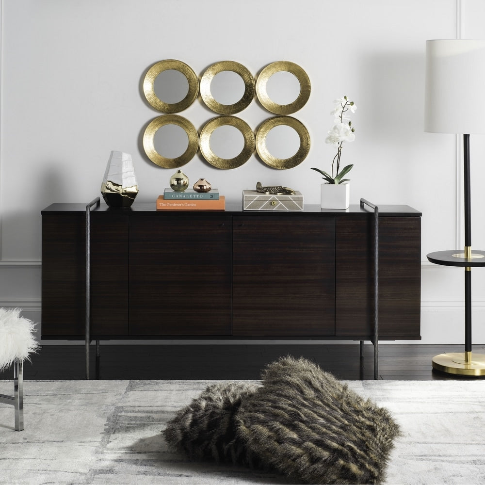 Safavieh Couture High Line Collection Baxton Wood Accent  Tv Stand - RoomsandDecor.com