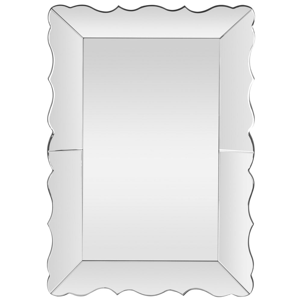 Safavieh Dalia Silver Rectangle Decorative Mirror - RoomsandDecor.com