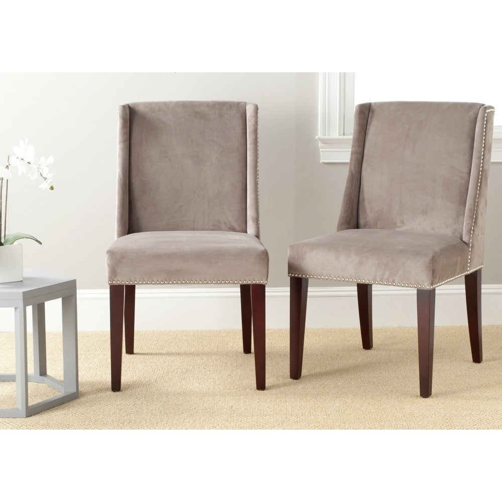 Mushroom Taupe Dining Chairs (Set of 2)