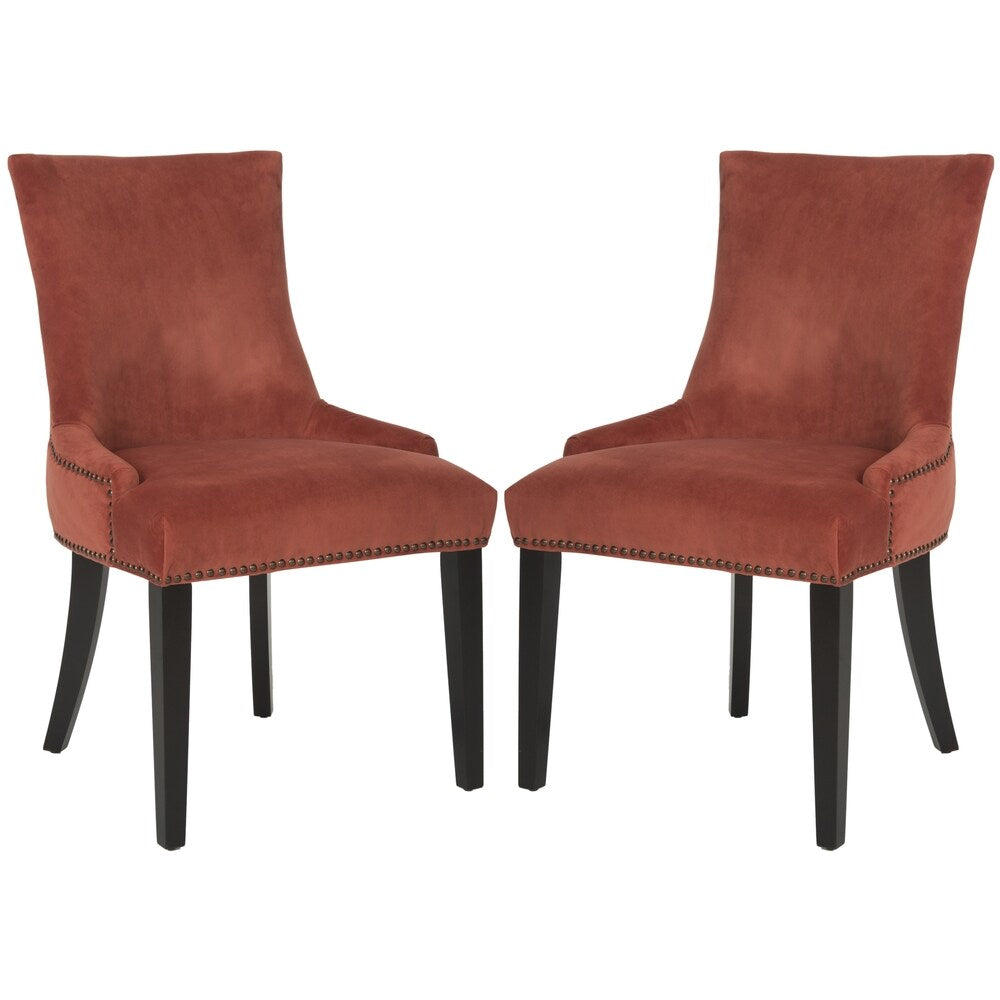 Safavieh Dining Lester Rust Dining Chairs (Set of 2)