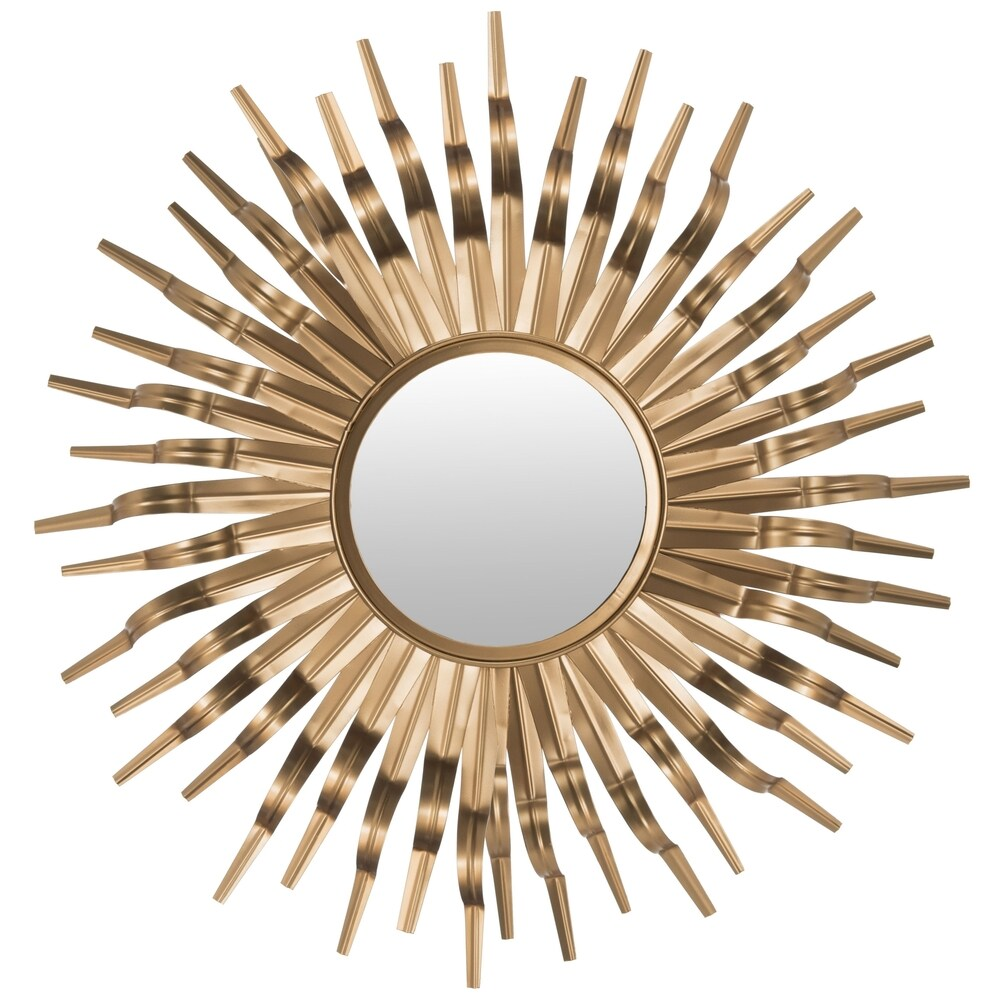 Safavieh Handmade Art Gold Sunburst 36-inch Decorative Mirror - RoomsandDecor.com