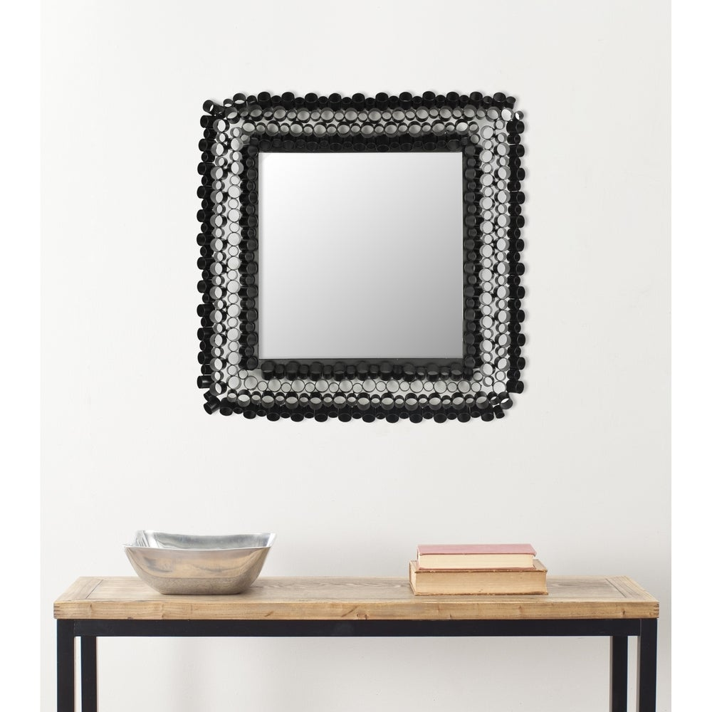 Safavieh Handmade Art Square Tubes 25-inch Decorative Mirror